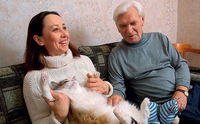 с женой Татьяной Танаковой