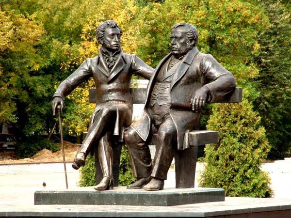 Пушкин и Крылов
